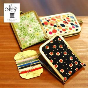 MARY ミニソーイングセット 裁縫道具/コンパクト/セット/携帯 北欧 雑貨 プレゼント 贈り物 お返し ギフト おしゃれ かわいい プチプラ 父の日 祝い 誕生日 贈り|okayulabo