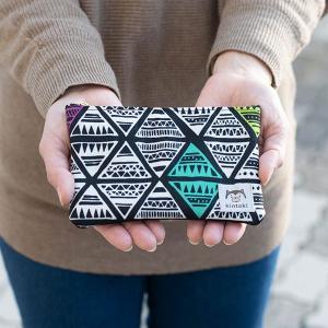 カラフルな柄がお洒落なカードケースにもなるポーチ カードもピッタリ入るサイズのポーチ【kintoki】小物入れ/カードケース/収納/ファスナーポーチ クリスマス|okayulabo