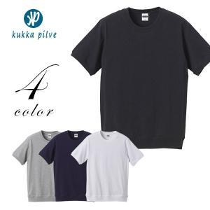 メンズ・レディース ヘヴィーウェイト半袖Tシャツ(サイドパネル) 7.1oz  【KUKKA PILVI】  シンプル 無地 ファッション おしゃれ|okayulabo