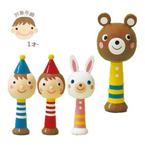 キンダーシュピール マラカス 玩具/おもちゃ/オモチャ/木製/子供/キッズ/子ども/男の子/女の子 北欧 雑貨 プレゼント 贈り物 お返し ギフト おしゃれ かわいい|okayulabo