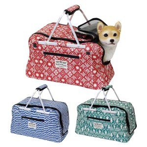 ファニーフィールド ペットキャリーバック ペット用/ポケット付/犬/猫/手提げ 北欧 雑貨 プレゼント 贈り物 お返し ギフト おしゃれ かわいい プチプラ 祝い 誕|okayulabo