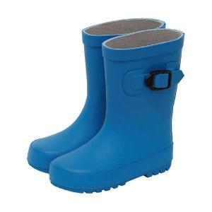 キッズ レインブーツ ブルー 長靴/ロング/シンプル/子供/男の子/女の子/梅雨/雨対策グッズ 北欧 雑貨 プレゼント 贈り物 お返し ギフト おしゃれ かわいい プチ|okayulabo