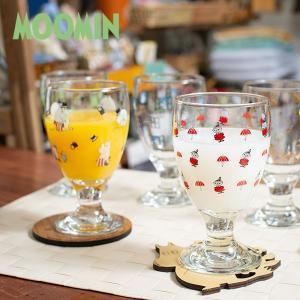 ムーミン ジュースグラス 280cc 北欧おしゃれ&かわいいガラス製コップ【MOOMIN】ガラス製コップ/グラス/タンブラー/食器/夏/食卓 祝い 誕生日 贈り物 退職 結|okayulabo