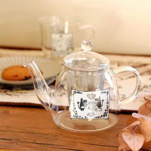 ムーミン 耐熱ポット 500ml モノトーン 【MOOMIN】ティーポット/紅茶/食器 祝い 誕生日 贈り物 退職 結婚 記念 引っ越し ブライダル 夏 2019年|okayulabo