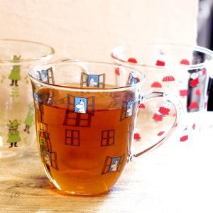 ムーミン 耐熱 腰丸 マグカップ 325ml  【MOOMIN】 紅茶 コップ グラス タンブラー ...