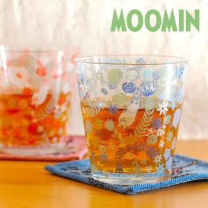 ムーミン テーパー ガラスタンブラー 【MOOMIN】ガラス製コップ/グラス/タンブラー/食器 祝い 誕生日 贈り物 退職 結婚 記念 引っ越し ブライダル 夏 2019年|okayulabo