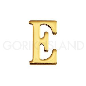 ゴーリキアイランド 真鍮 切り文字 ブラスレター 30mm【E 大文字】820105|okazaki-seizai