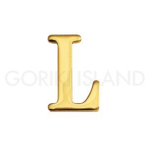 ゴーリキアイランド 真鍮 切り文字 ブラスレター 30mm【L 大文字】820112|okazaki-seizai