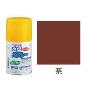 水性スプレー 100ml 茶 okazaki-seizai