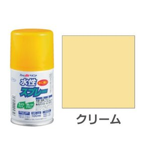 水性スプレー 100ml クリーム okazaki-seizai