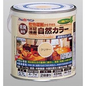 油性自然カラー(天然油脂ステイン) クリヤー 0.7L