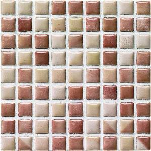 モザイクタイル コスミオン COS-1511 15角紙貼り 1シート(18×18個)|okazaki-seizai