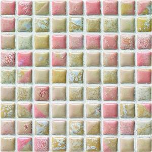 モザイクタイル コスミオン COS-216 15角紙貼り 1シート(18×18個)|okazaki-seizai