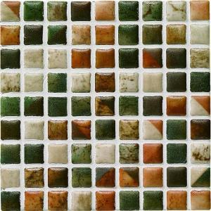モザイクタイル コスミオン COS-27 15角紙貼り 1シート(18×18個)|okazaki-seizai