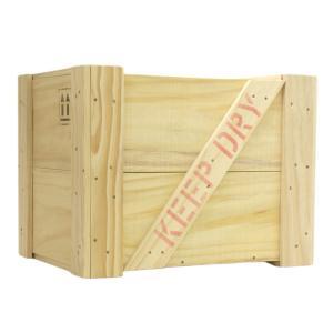 木箱 ふた付き 白木(無塗装) Lサイズ |okazaki-seizai
