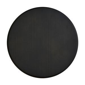 円形 パイン集成材 ブラック塗装 直径40cm 厚さ1.8cm