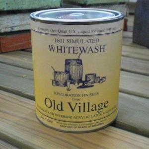 Old Village Acrylic Latex Simulated Whitewash 1/2Pint(236ml)|okazaki-seizai
