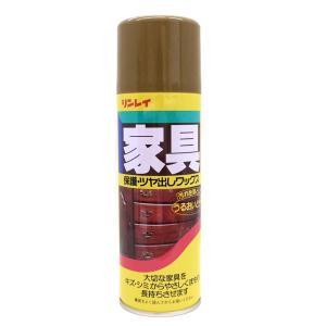 リンレイ 家具 保護・ツヤ出しワックス 330ml|okazaki-seizai