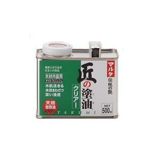 匠の塗油(クリアー) 500ml|okazaki-seizai