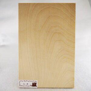 木のはがき トチ|okazaki-seizai