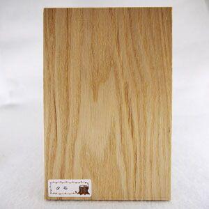 木のはがき タモ|okazaki-seizai