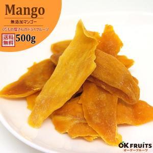 ドライマンゴー500g 送料無料 太陽の恵みフィリピン セブ島産 最高級無添加半生ドライマンゴー  【無添加ドライマンゴー500g(100g×5袋)】|okfruit