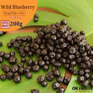 ワイルドブルーベリー 200g 送料無料 アメリカ産 ワイルド ブルーベリー (野生種) 200g入り 【アメリカ産ワイルドブルーベリー200g】 okfruit