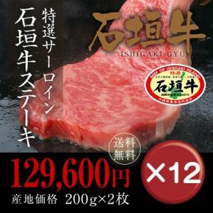 ステーキ お中元 石垣牛特選12箱セット