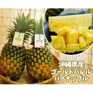 沖縄県東村の最高級パイン【ゴールドバレル】は酸味がほとんどなく上品な甘さが特徴です。 ゴールドバレル...