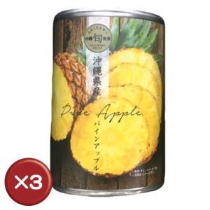 沖縄県産パインアップル缶詰 3個セット