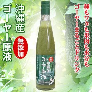 沖縄産 ゴーヤー原液 500ml 無添加 名護パイナップルワイナリー