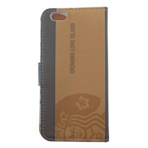 スマホケース 手帳型 沖縄デザイン OKINAWA LOVE ISLAND iphone6/6s