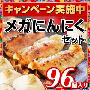 沖縄餃子 メガにんにくセット 96個入り【送料無料】 okinawagyuza