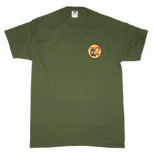 72th defense squadron ミリタリー ミリタリーグリーン メンズ 半袖 ティシャツ 沖縄お土産 大人気|okinawamarket