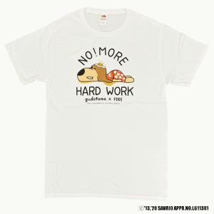 ぐでたま Tシャツ サンリオ キャラクター 白 ティシャツ ぐでたま × エルウッド (FDDI) 沖縄お土産 オススメ 沖縄 GUDETAMA|okinawamarket