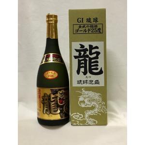 泡盛 龍ゴールド 25度 720ml×12本(1ケース) 金武酒造