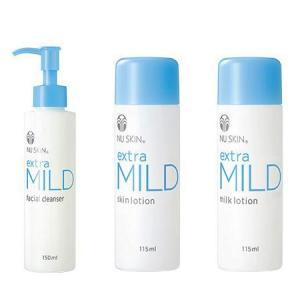 NU SKIN ニュースキン エクストラマイルド 洗顔、化粧水、乳液、3点セット