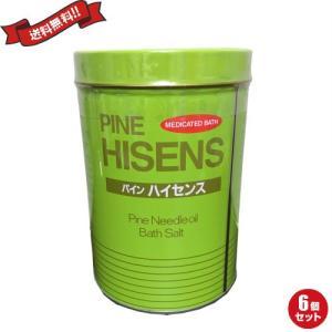 薬用入浴剤 パインハイセンス 1缶(2.1kg)医薬部外品 高陽社 6個セット|okinawangirls