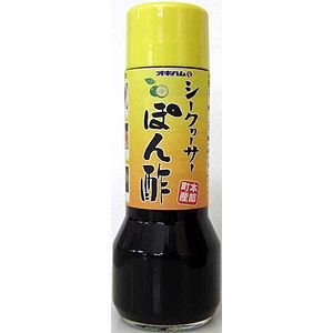 (沖縄みやげ)(沖縄 お土産)シークワーサーぽん酢(オキハム)