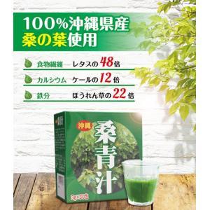 [沖縄 県産品]3g×30包 桑 青汁 [デキストリン ダイエット]|okinawasakata