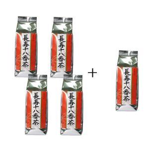 仲善(なかぜん)長寿十八番茶(500g)【4個に1個サービス】 okinawashimashop20