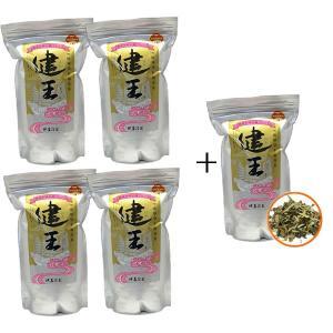 仲善(なかぜん)琉球草木根皮茶 健王(500g)【4個に1個サービス】 okinawashimashop20