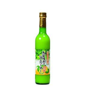 仲善(なかぜん)大宜味村のシークヮーサー100%(500ml)|okinawashimashop20