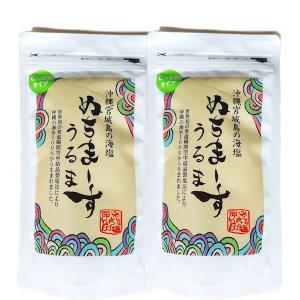 メール便【送料無料】 ぬちまーす2個セット(うるま250g×2袋)|okinawashimashop20