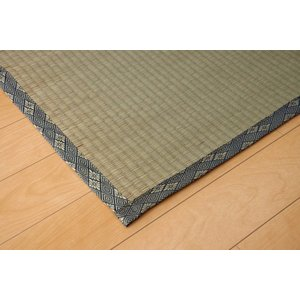 畳上敷き 国産 い草 カーペット 2畳 国産 糸引織 湯沢 三六間2畳 約182×182cm|okitatami
