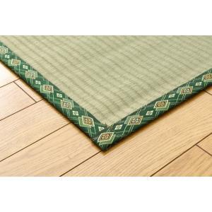 い草上敷 糸引織 四季の暮らし 江戸間6畳(約261×352cm|okitatami