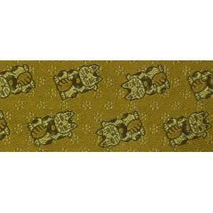 畳 へり オプション 四方へり加工 開運黄金の招きネコ 厚み25mmの畳専用|okitatami