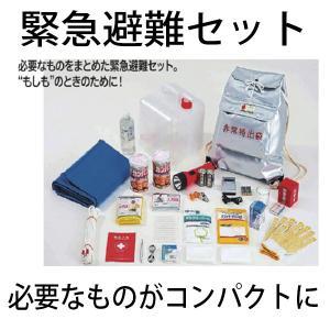 非常持ち出し袋 緊急避難セット 応急医薬品 カンパン ラジオ 軍手 懐中電灯など一式|okitatami
