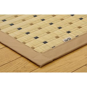 い草 ラグカーペット 3畳 国産 掛川織 スウィート 約191×250cm|okitatami