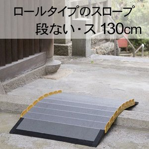 車いす スロープ  段ない・ス ロールタイプ1300 シコク社|okitatami